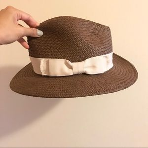 Hatattack straw hat from Club Monaco